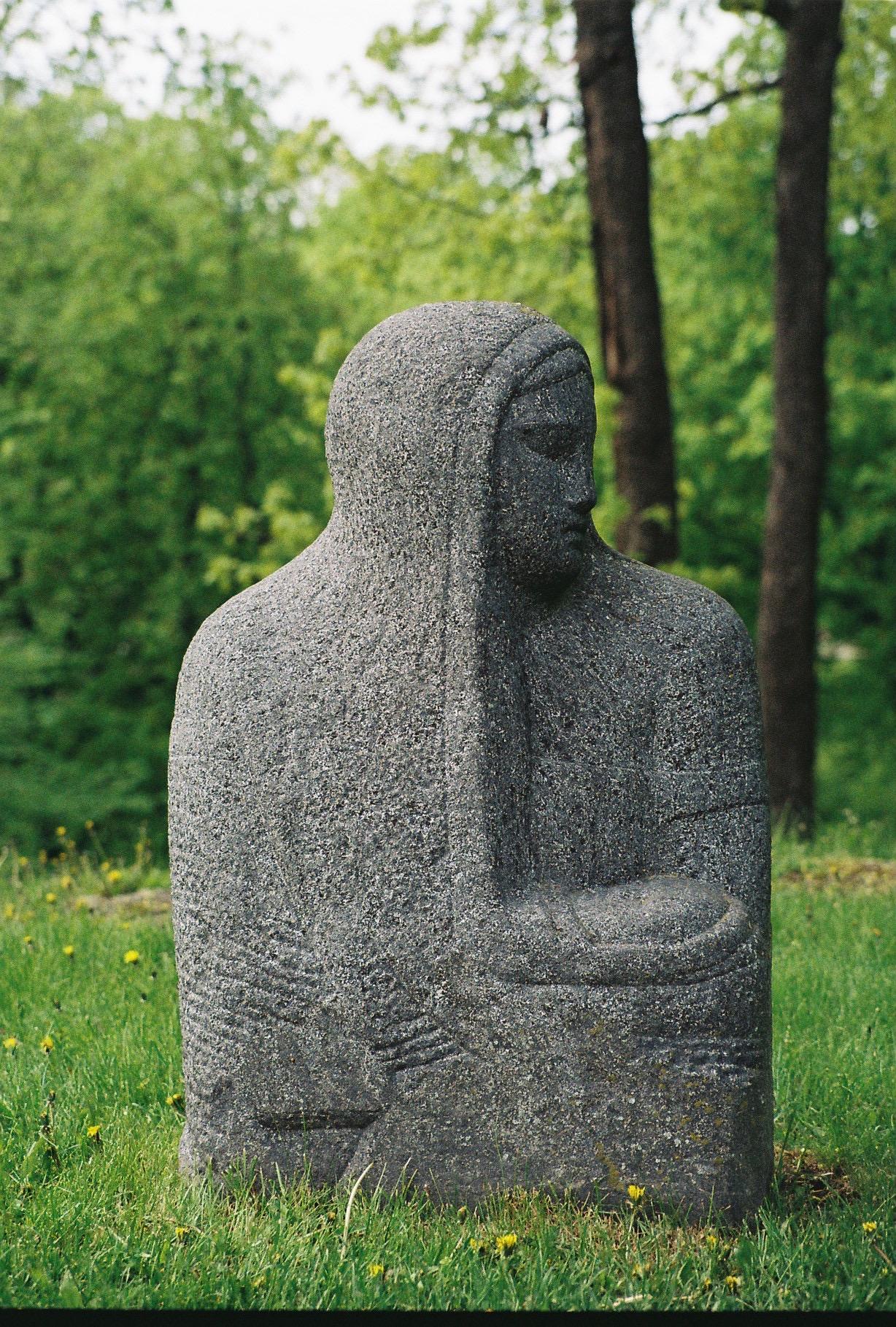 Profil de statue, parc de Kadriorg, Tallinn, mai 2015