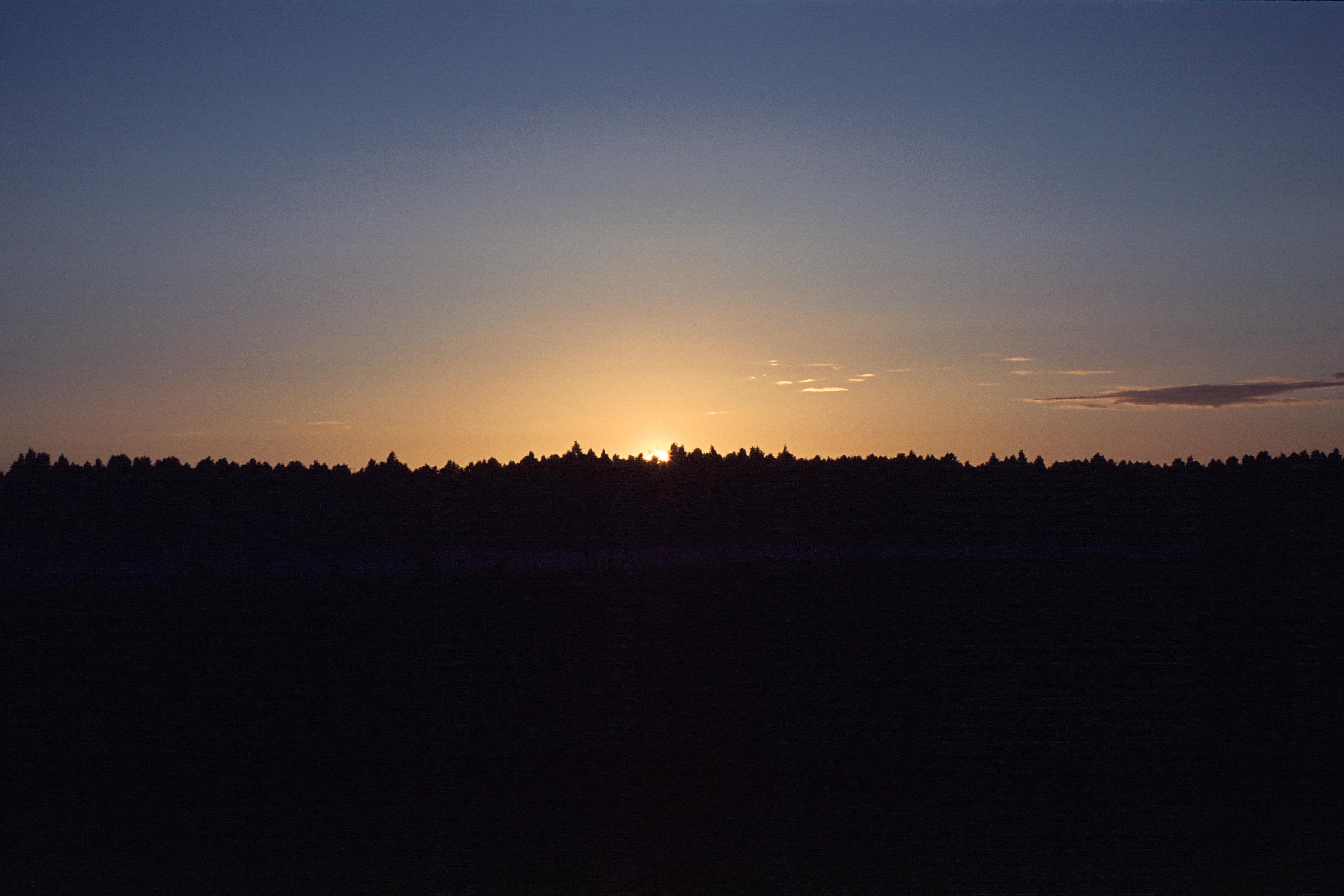 Coucher de soleil à Virtsu, juin 2015