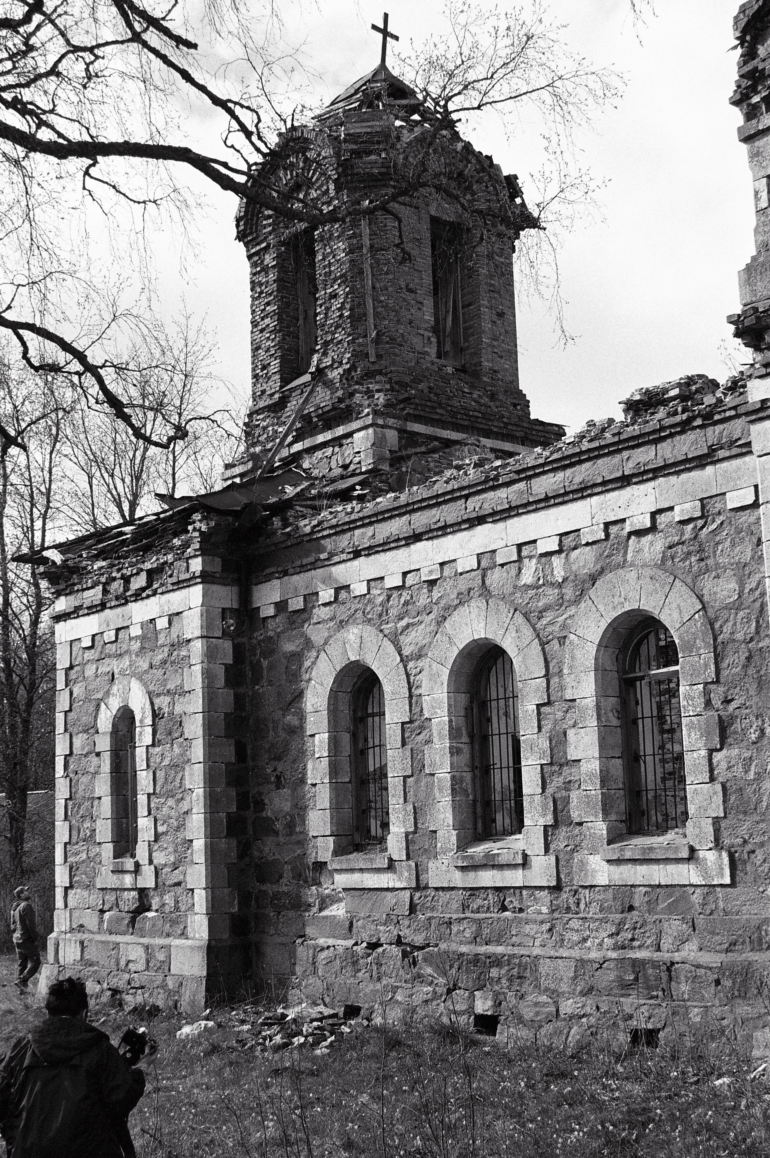 Église abandonnée, Virtsu, mai 2015